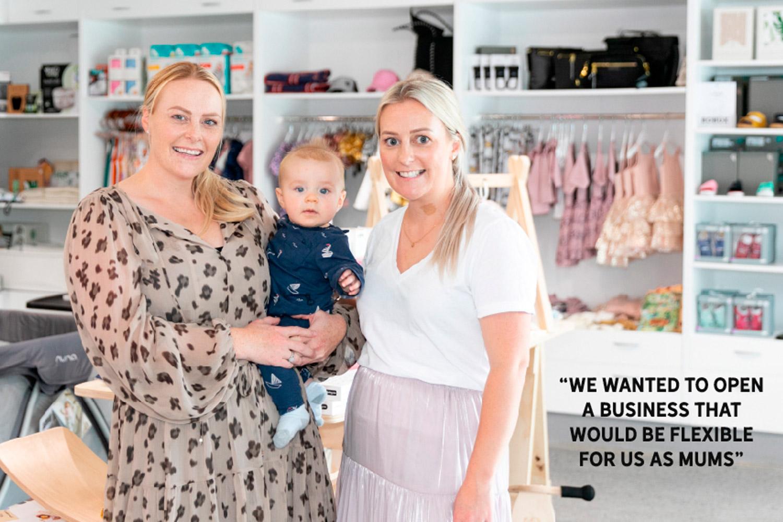 Image of Rachel Lyford and Kristen Jones from Baby HQ